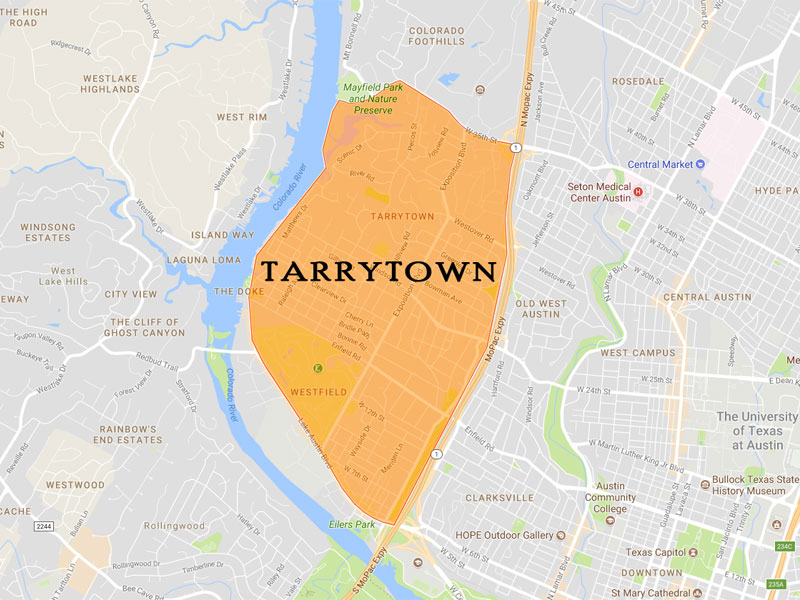 Tarrytown Map