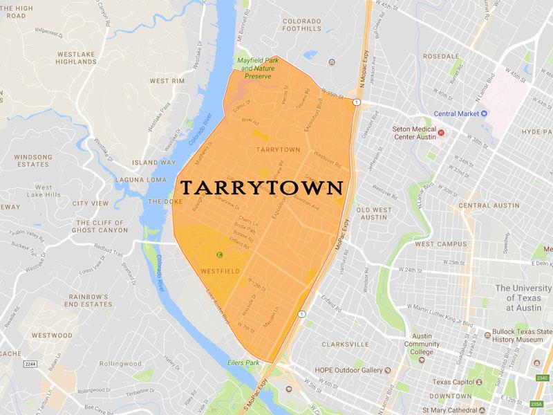 Tarrytown Map